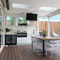 If you are looking for Bbq Kitchen Outdoor, You come to the right place. Here are the Bbq Kitchen Outdoor. This post about Bbq Kitchen Outdoor was posted under the Out. Outdoor Bbq Kitchen, Outdoor Kitchen Design, Kitchen Decor, Outdoor Kitchens, Kitchen Ideas, Kitchen Sink, Kitchen Cabinets, Outdoor Rooms, Outdoor Dining
