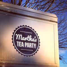 Branded Citroen H Van Hatch | Martha's Tea Party