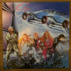 InJapan.ru — GILLAN / FUTURE SHOCK UK пластинка VIRGIN OVED 74 — просмотр лота