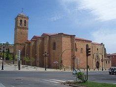 Excolegiata - hoy concatedral - de San Pedro de Soria