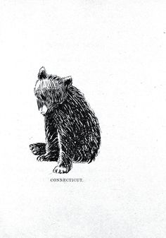 LOVE this for a tattoo...reps my Allie Bear :) Maybe small on the back of my neck, or inside of the wrist?