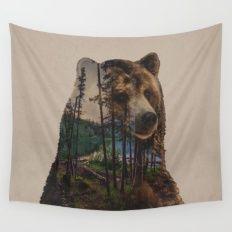 Bear Lake Wall Tapestry