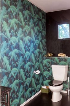 Wallpaper: Palm Jungle Walnut by Cole and Son