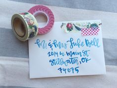 Custom Watercolor Hand Lettering  Wedding or Event by apletters