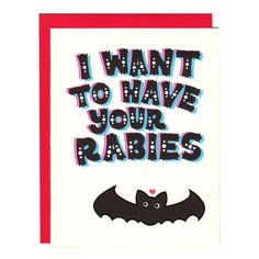 Hannah Zakari - I Want to Have Your Rabies Bat Card