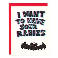 Hannah Zakari - I Want to Have Your Rabies Bat Card
