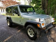 Car brand auctioned:Jeep Wrangler Unlimited 2004 Car model jeep wrangler unlimited lj original owner no reserve