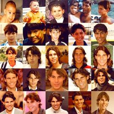 The evolution of Rafael Nadal