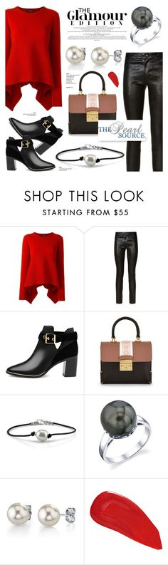 """""""The Pearl Source 4"""" by anyasdesigns ❤ liked on Polyvore featuring Alexander McQueen, Paige Denim, Ted Baker, MayraFedane and Christian Louboutin"""