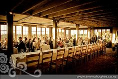 Wedding reception at Mudbrick