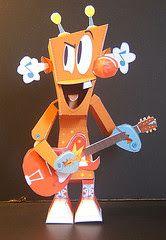 Custom Paper Toys: Mr. Robot!