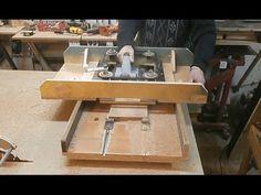 Рейсмус своими руками. Часть 2. Home-made benchtop thicknesser. Part 2. - YouTube