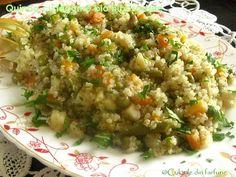 » Quinoa cu legume bio hiposodateCulorile din Farfurie Quinoa, Risotto, Ethnic Recipes, Food, Essen, Meals, Yemek, Eten