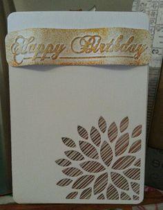 Pensiero di carta x una persona molto speciale....#card #la coppia creativa # studio calico