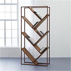 Unique & functional.  v bookcase-room divider