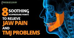 #Acupressure along with facial muscle exercises is a great way to reduce pain and discomfort in the jaws and #TMJ symptoms. #Reflexology #ModernReflexology Visit Here: http://www.modernreflexology.com/acupressure-points-for-jaw-pain-and-tmj/