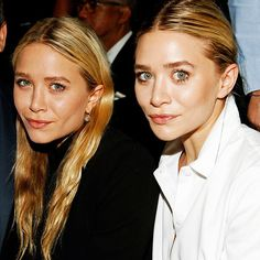Olsen Twins' Style—Mary-Kate and Ashley Fashion | Who What Wear UK Mary Kate Ashley, Mary Kate Olsen, Olsen Twins Style, Eyebrow Game, Ashley Olsen, Professional Women, Casual Street Style, Beautiful Models, Shirts For Girls