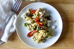 Don't swear off pasta salad — just the gloopy ones. This one is all texture and zip.