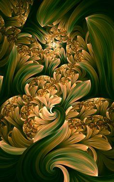 In Bloom by *tatasz on deviantART ~ fractal