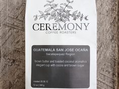 Ceremony Coffee Roasters  Annapolis, Maryland