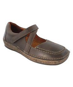 Mud Evora Leather Mary Jane #zulily #zulilyfinds