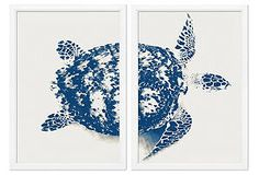 Stuart Redler, Turtle Diptych