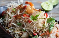Hairy Bikers' crispy noodles with prawn and crab recipe - goodtoknow