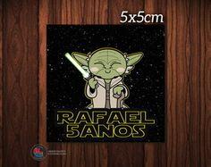 Adesiv Cx Acrílica Star Wars Mestre Yoda
