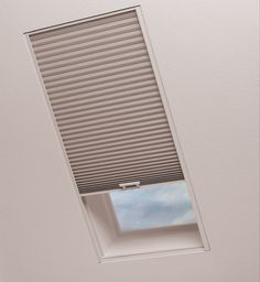 Your search for the perfect window treatments for skylights is over! These options will allow you to enjoy your skylights without any of the downsides. Diy Skylight, Skylight Covering, Skylight Shade, Skylight Blinds, Skylight Window, Roof Window, Blinds For Windows, Skylights, Window Coverings