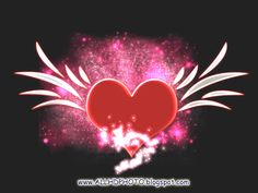 Wallpapers S And N Letters In Heart Images Fractal Art Hearts ...