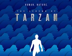 """Check out new work on my @Behance portfolio: """"The legend of Tarzan minimal movie poster"""" http://be.net/gallery/40243363/The-legend-of-Tarzan-minimal-movie-poster"""