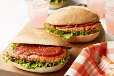 Sándwiches de pollo a la parmesana Receta - Comida Kraft