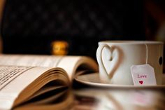 Book and Tea could be the beginning middle or end of a great day