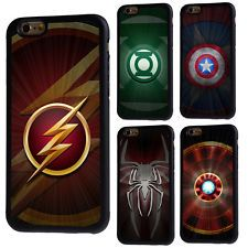 Logotipo de super-herói Comics Capa De Borracha Para Iphone 5/5s/SE 5c 6/6s 7 8 X Plus Avengers Comics, Iphone 4, Captain America, Cover, Logo, Mantle, Avengers Comic Books