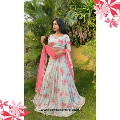 """""""Kindness is grace, and grace is elegance."""" - Dana Dalgetty  Rent this beautiful floral print designer lehenga for your next event at www.rentanattire.com or visit our store located in Warje, Pune. Contact us on 7722009477 for appointment.  #rentanattire #sustainablefashion #bridesmaids #rentalfashion #rentalrevolution #makeinindia #fashiononrent #whybuywhenyoucanrent #friendship #weddingcollection #trend #designerlehenga #onlinestore #outfitoftheday #livelovelaugh #dmfororder #bliss…"""
