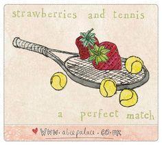 Strawberry tennis [no. 187 of 365]
