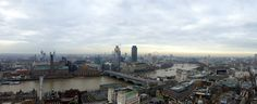 Panorama from St. Paul's Cathedral, London