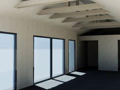 Dom jednorodzinny 76,70m2 Beams, Divider, Building, House, Furniture, Home Decor, Decoration Home, Home, Room Decor
