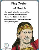 Lesson 14 Josiah King # 16 of Judah 2 Kings 2 Chronicles King Josiah, Children's Church Crafts, Kings Of Israel, Information Poster, Word 2, Sunday School Lessons, Bible Crafts, Kids Church, Bible Stories