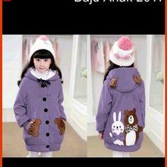 Baju Atasan Wanita Model 0151spm jaket anak wanita boneka 2 ungu