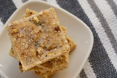The Best Shortbread Recipes For Holiday Baking: Butter Pecan Shortbread Shortbread Bars, Shortbread Recipes, Cookie Recipes, Dessert Recipes, Yummy Recipes, Just Desserts, Delicious Desserts, Yummy Food, Yummy Treats