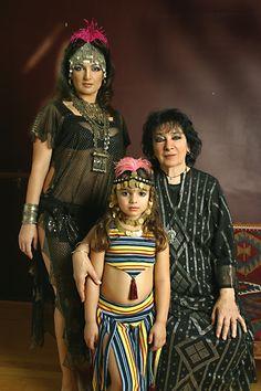 Suhaila Salimpour, Isabella Antoinette Salimpour Khoury, Jamila Salimpour (Three Generations) - tribe.net