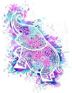 Wallpaper Celular Mandalas Elefantes 24 Ideas For 2019 Mandala Art, Mandala Drawing, Mandala Design, Mandala Wallpaper, Galaxy Wallpaper, Wallpaper Backgrounds, Henna Elephant, Elephant Art, Elephant Wallpaper