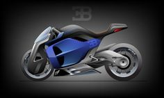 Bugatti Concept Bike Challenge by p0ww