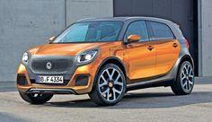 Smart Car SUV | 2014 Smart Forfour