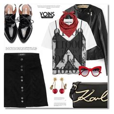 """""""YOINS"""" by defivirda ❤ liked on Polyvore featuring McQ by Alexander McQueen, Karl Lagerfeld, Barneys New York, Gucci, Dolce&Gabbana, yoins, yoinscollection and loveyoins"""