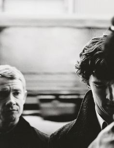 I love the concern John almost always has on his face.  You know it's for Sherlock.  All of it.