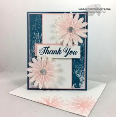Stamps-N-Lingers.  Daisy Delight bundle Sneak Peek from the 2017-2018 Annual Catalog.  Color Theory DSP. https://stampsnlingers.com/2017/04/23/stampin-up-colorful-delightful-daisy-thank-you/