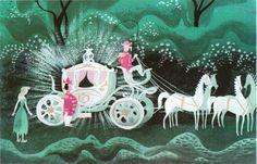 Mary Blair 'Cinderella' Concept Sketches.  Beautiful.