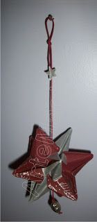 Móbile estrela de origami. ArteMagistra.com.br